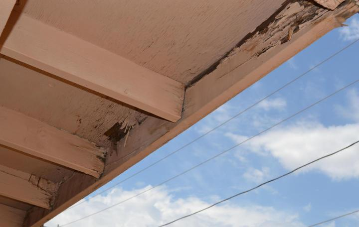 Damaged eave and fascia for website